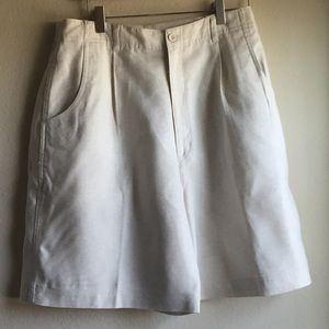 TALBOTS BLEATED SHORTS
